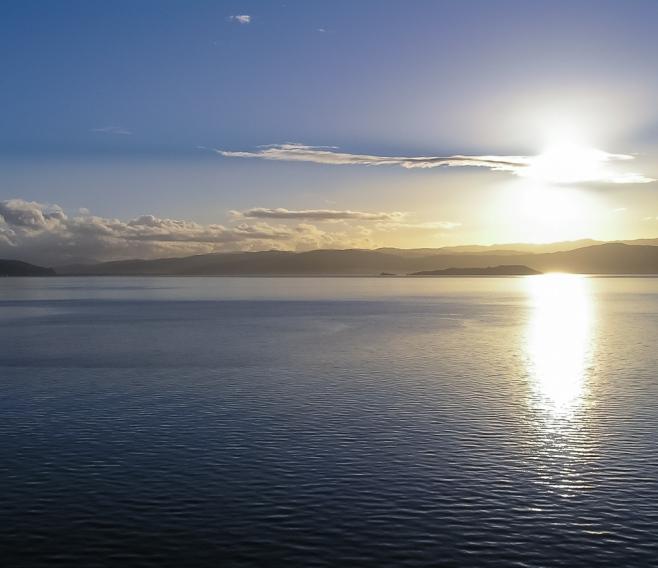 Sunrise, Cook Strait